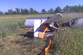 В Саратовской области разбился самолет, пилот погиб