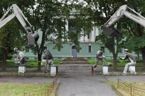 Жители Васильевского острова выйдут на сход против вырубки сквера