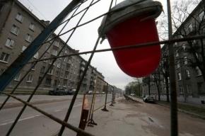 На улице Правды пробили газопровод при установке светофора