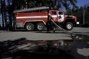 Женщина погибла при пожаре в Колпино