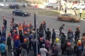 В «Москва-Сити» задержали около 400 мигрантов после массовой драки