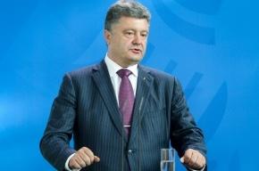 СМИ: Порошенко намерен урегулировать кризис на Украине за три месяца