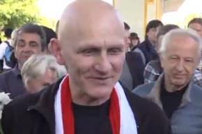 В Белоруссии освобожден правозащитник Алесь Беляцкий