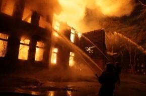 В психиатрической больнице Скорцова-Степанова произошел крупный пожар