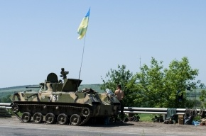Украинские силовики начали штурм Славянска