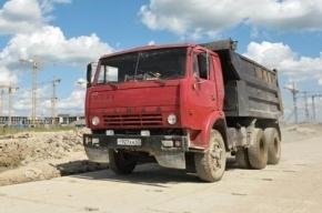 КамАЗ протаранил автоколонну в Дагестане