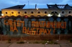 В Петербурге состоялась акция за «снос» губернатора Полтавченко