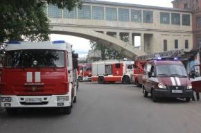 В Петербурге горел завод «Красный треугольник»