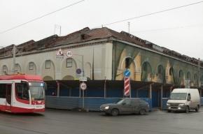 В Петербурге началась реставрация Никольских рядов
