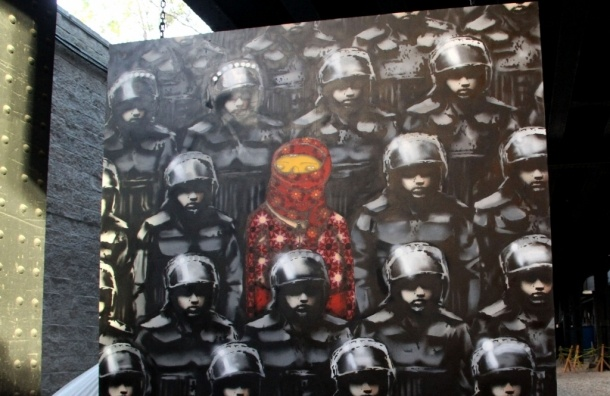Британские коллекционеры отменили масштабную выставку Бэнкси в Москве
