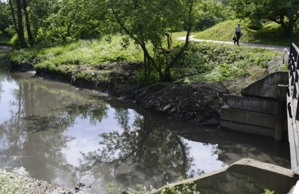 В реке Волковка зафиксировано загрязнение нефтепродуктами