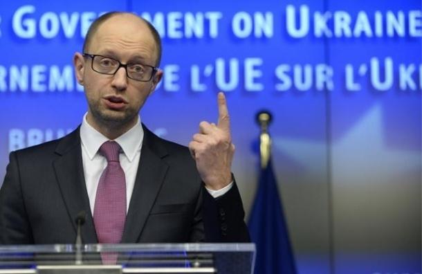 Премьер Украины Яценюк подал в отставку