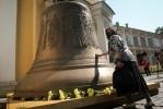 В Петербург прибыл самый большой колокол Александро-Невской лавры: Фоторепортаж