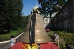 Фоторепортаж: «В Петербург прибыл самый большой колокол Александро-Невской лавры»