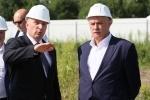 Полтавченко на стройплощадке гипермаркета «Биг Бокс»: Фоторепортаж