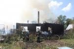 Фоторепортаж: «В Красносельском районе тушат пожар по повышенному номеру сложности»