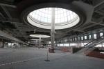 Фоторепортаж: «Полтавченко осматривает гостиницу и реконструкцию терминала в Пулково»