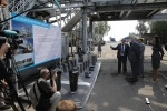 Фоторепортаж: «Полтавченко открыл асфальтобетонный завод»