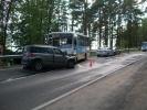Фоторепортаж: «В ДТП под Петербургом погиб один человек и трое пострадали»