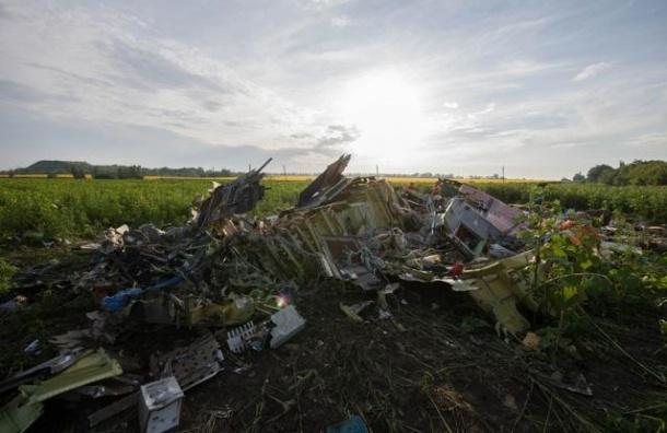 Порошенко приказал прекратить огонь в районе авиакатастрофы