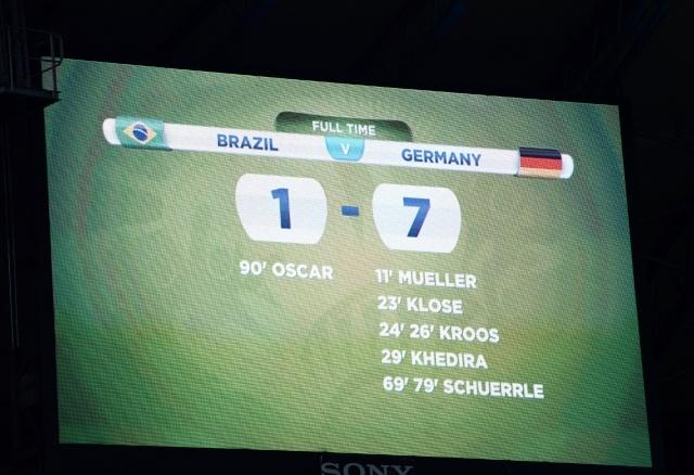 Германия разгромила Бразилию со счетом 7:1 : Фото