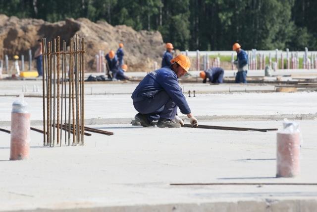 Полтавченко на стройплощадке гипермаркета «Биг Бокс»: Фото