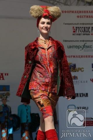 Новоторжские шубы, приволжский лен и ивановские ситцы  завоевали «Серебряный феникс» на фестивале моды в Плесе: Фото