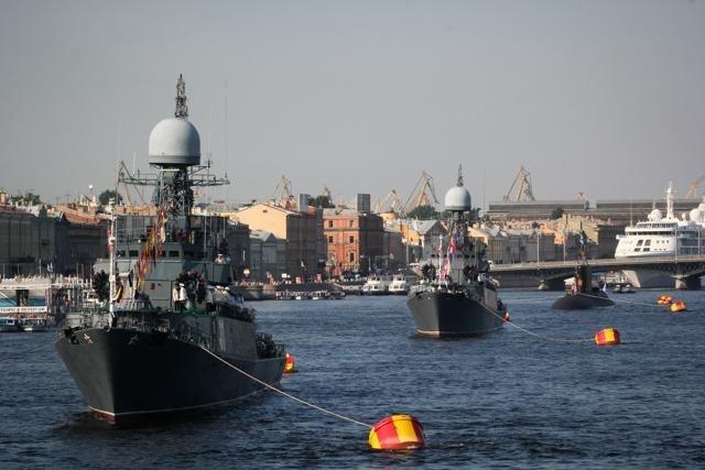 Парад кораблей 2014: Фото