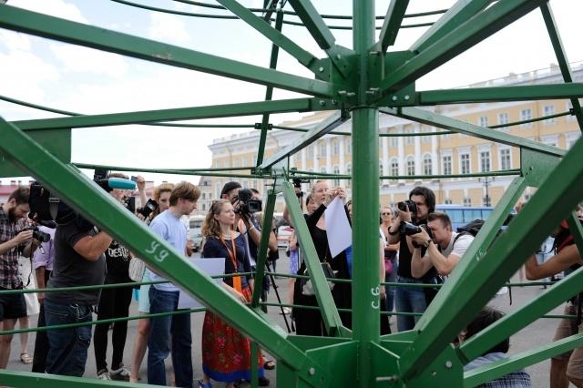 Елка на Дворцовой площади: Фото
