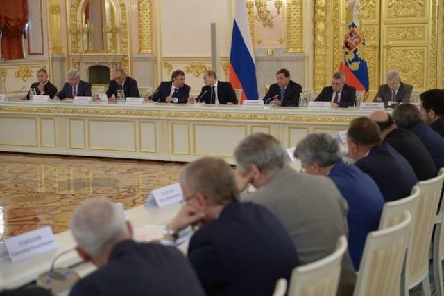 Заседание Совета по межнациональным отношениям при Президенте РФ: Фото