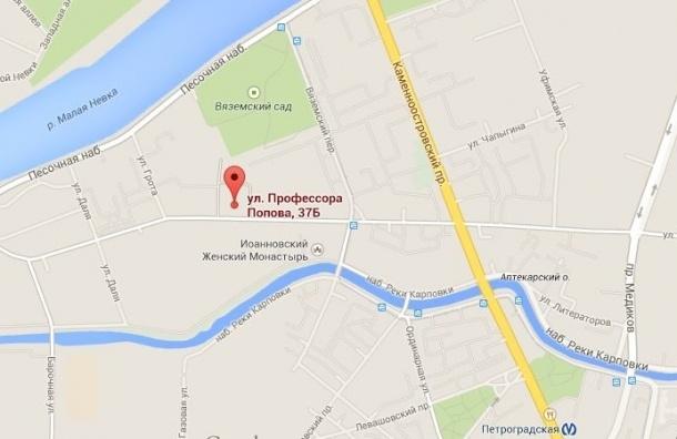 Полтавченко предложил построить муниципальный паркинг на Петроградке