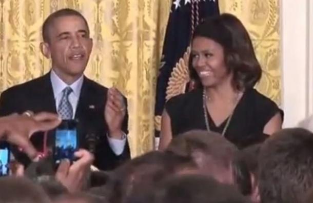 Обама предположил, что в пироги Белого дома подмешивают наркотики