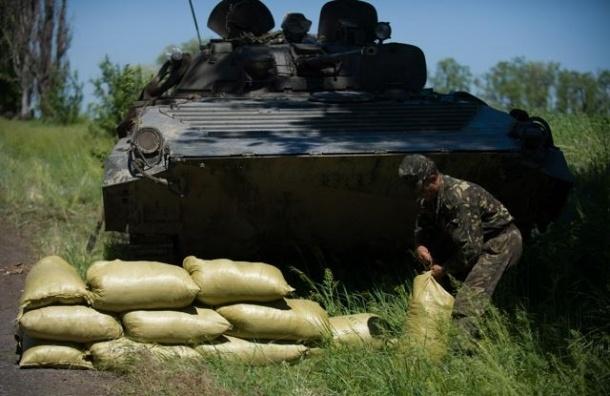 Украинская армия бросила на штурм Луганска 70 танков