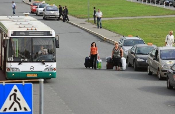 На Пулковском шоссе появится выделенная линия к аэропорту