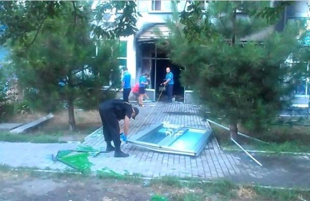 В Одессе взорвали два отделения «ПриватБанка»