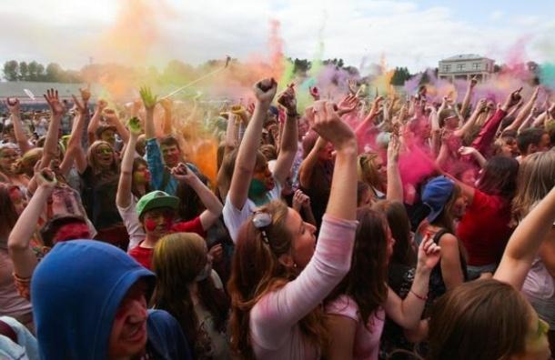 В Петербурге пройдет масштабный фестиваль красок