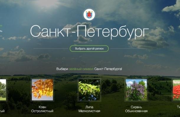В Петербурге выберут растение-символ региона