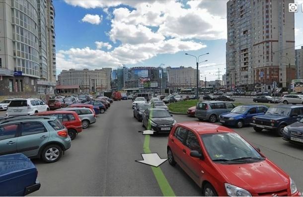 В Петербурге всё сложней припарковать автомобиль