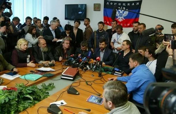 ДНР: Украинская армия обстреляла Донецк фосфорными снарядами