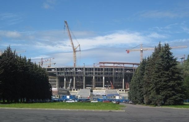 «Трансстрой»: строительство стадиона на Крестовском идет по графику