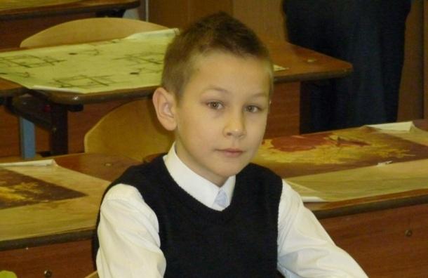 В Петербурге ищут школьника, который пропал три месяца назад