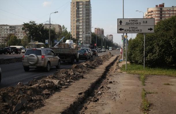 На Искровском идет сомнительный ремонт