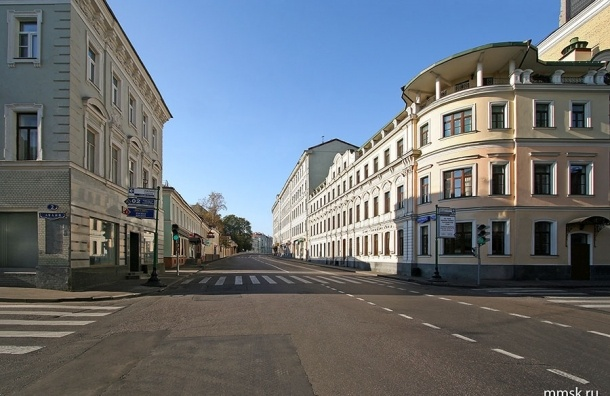 В центре Москвы появится новая пешеходная зона