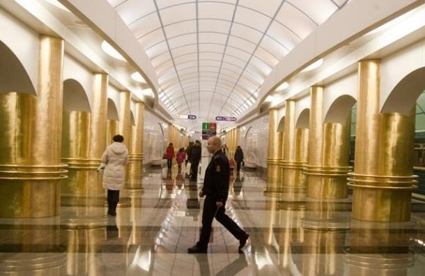 Сбой произошел утром на фиолетовой ветке петербургского метро