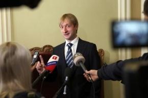 Плющенко провел первую полноценную тренировку в новом сезоне