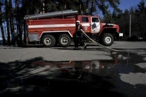 В Кировском районе произошел крупный пожар