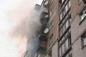 Жильцов дома на Октябрьской набережной ночью эвакуировали из-за пожара