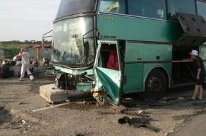 На Кубани разбился автобус с 30 пассажирами