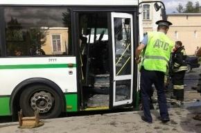 В ДТП с маршруткой в Пушкине пострадали четыре человека и один погиб