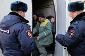 В Московском районе мигрант при задержании напал на полицейского